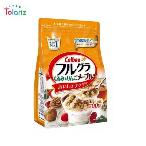 Calbee Furugura Walnut & Apple maple 700g – Nhật Bản
