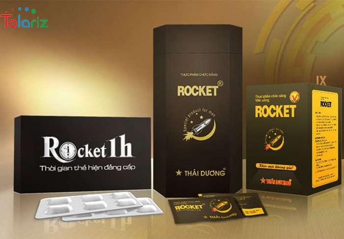 Bộ ba sản phẩm Rocket 1 có chức năng tăng cường cương dương, kéo dài thời gian quan hệ của tập đoàn Sao Thái Dương. Được xuất hiện trên thị trường vào năm 2017.