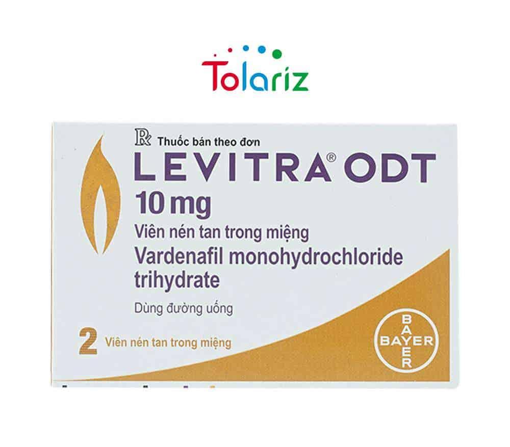 Thuốc Levitra ODT 10mg: Công Dụng, Cách Sử Dụng, Giá Bao Nhiêu?