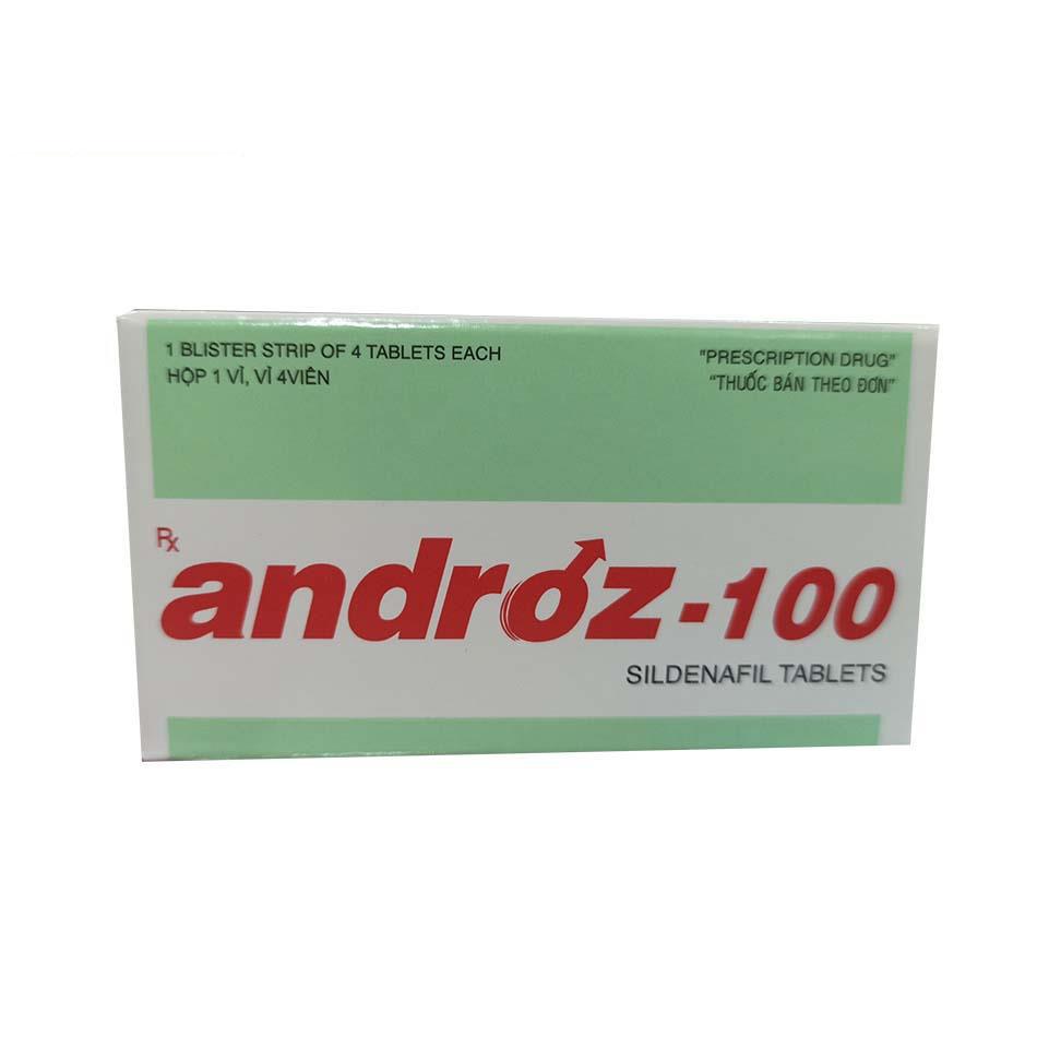 Androz – 100 – Tăng Cường Cương Dương