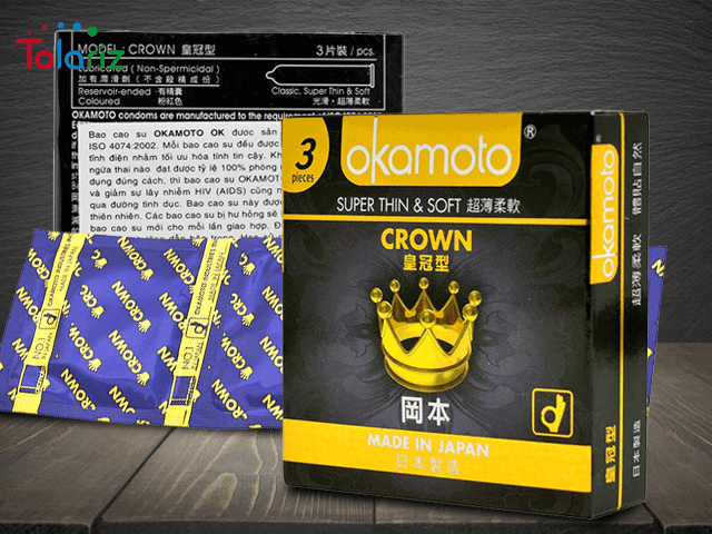 Review Bao Cao Su Okamoto Crown: Trải Nghiệm Thực