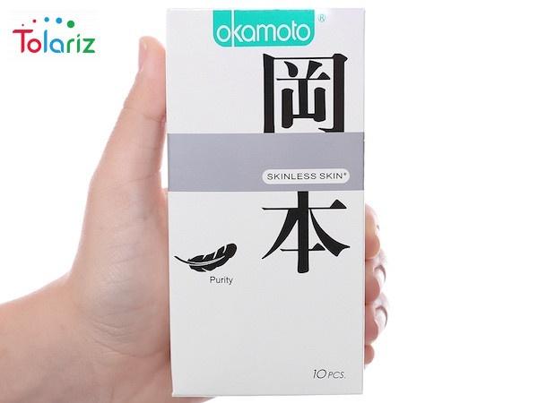 Okamoto Skinless Skin Giá Bao Nhiêu? Mua Ở Đâu?