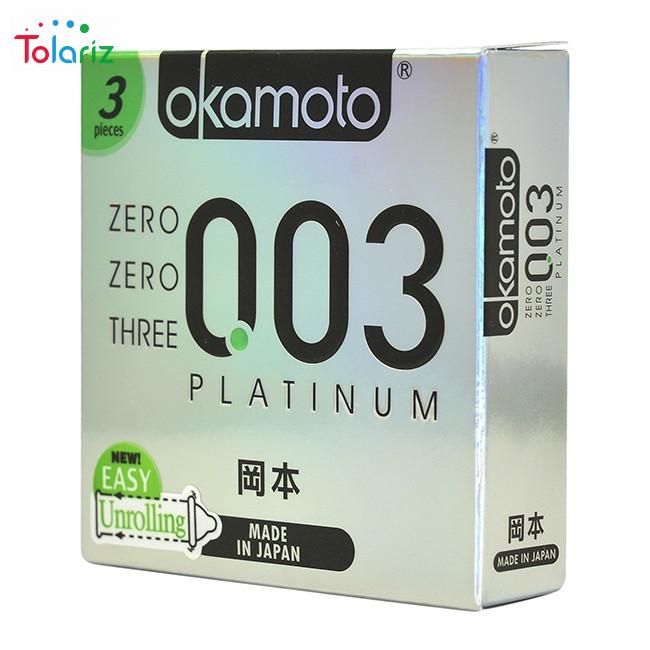 Review Bao cao su Okamoto Platinum 0.03