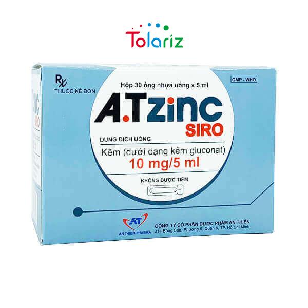 A.T ZINC Siro 5ml – Tăng Cường Sung Mãn