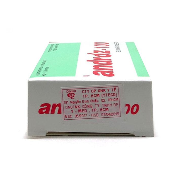 Thuốc cường dương Androz 100 có tốt không? Công dụng là gì?