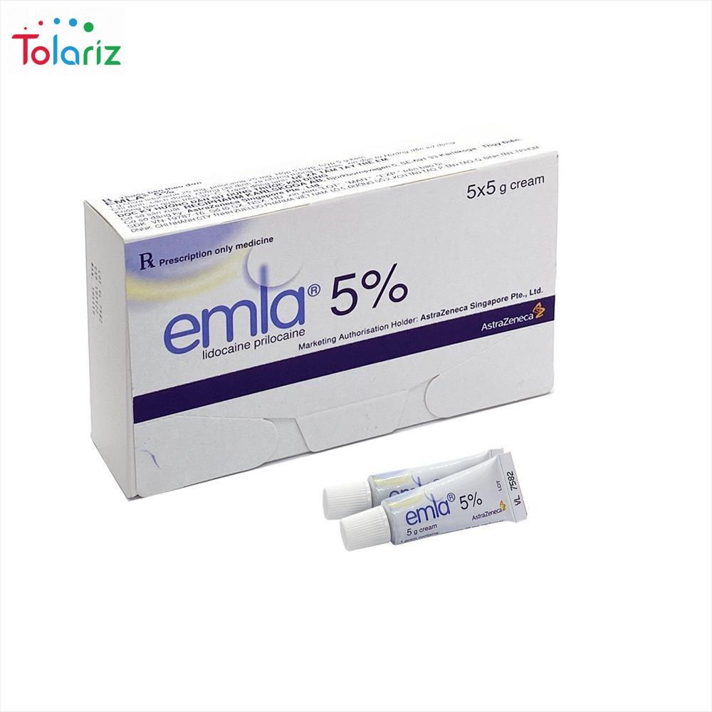 EMLA 5% – Thuốc bôi chống xuất tinh sớm