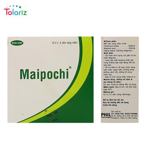 Thuốc Maipochi: Công Dụng, Giá Bán, Mua Ở Đâu Uy Tín?