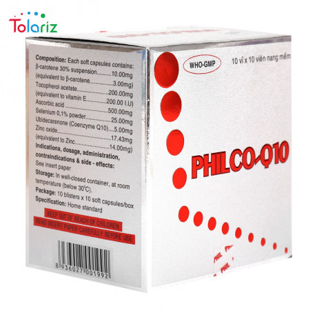 Thuốc Philco Q10: Công Dụng, Cách Dùng, Giá Bán Bao Nhiêu?