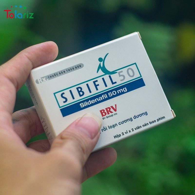 Thuốc Sibifil 50mg: Công dụng, Giá bao nhiêu?