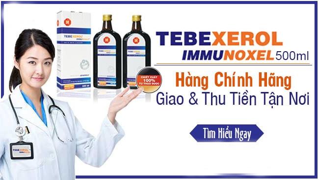 Tebexerol Immunoxel 500ml: Cách Dùng, Giá Bán, Mua Ở Đâu?