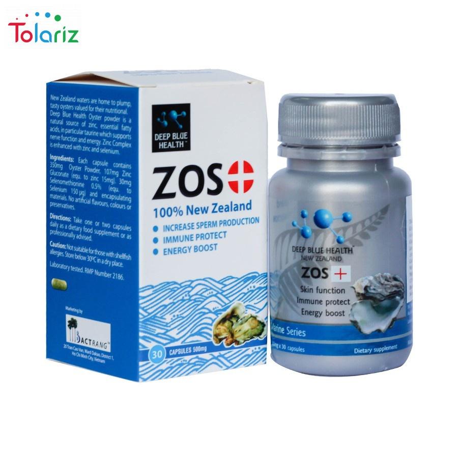 Viên Uống ZOS+ New Zealand Có Tốt Không? Giá Bao Nhiêu?