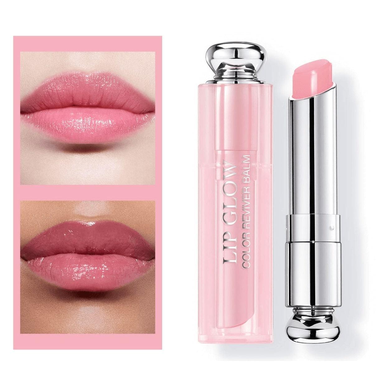 Son Dưỡng Dior Addict Lip Glow mã 001 màu hồng