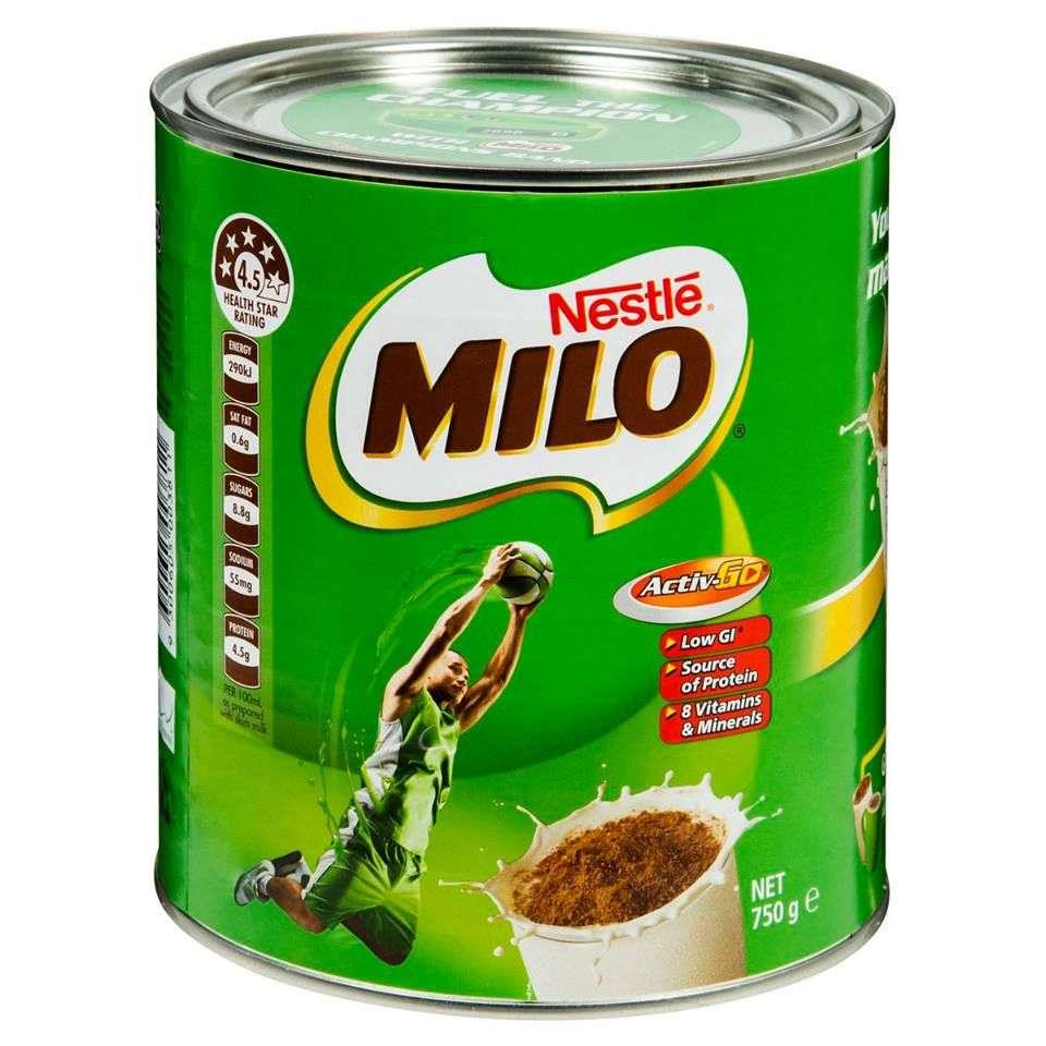 Sữa Milo Chocolate Malt hộp 1kg hoặc 750g giúp cho cơ thể của trẻ cao lớn nhanh hơn, tăng cân đều hơn, phát triển các giác quan toàn diện