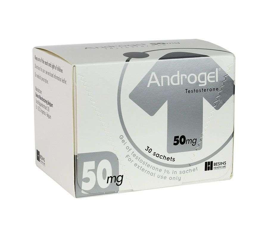 Công dụng Androgel 50mg dạng bôi đối với da