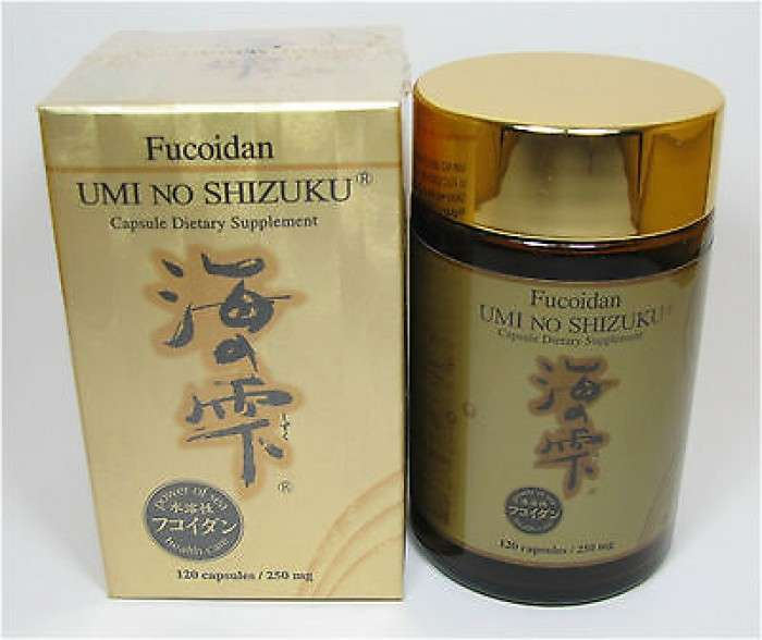 Fucoidan Umi No Shizuku Tảo Phòng Chống Ung Thư