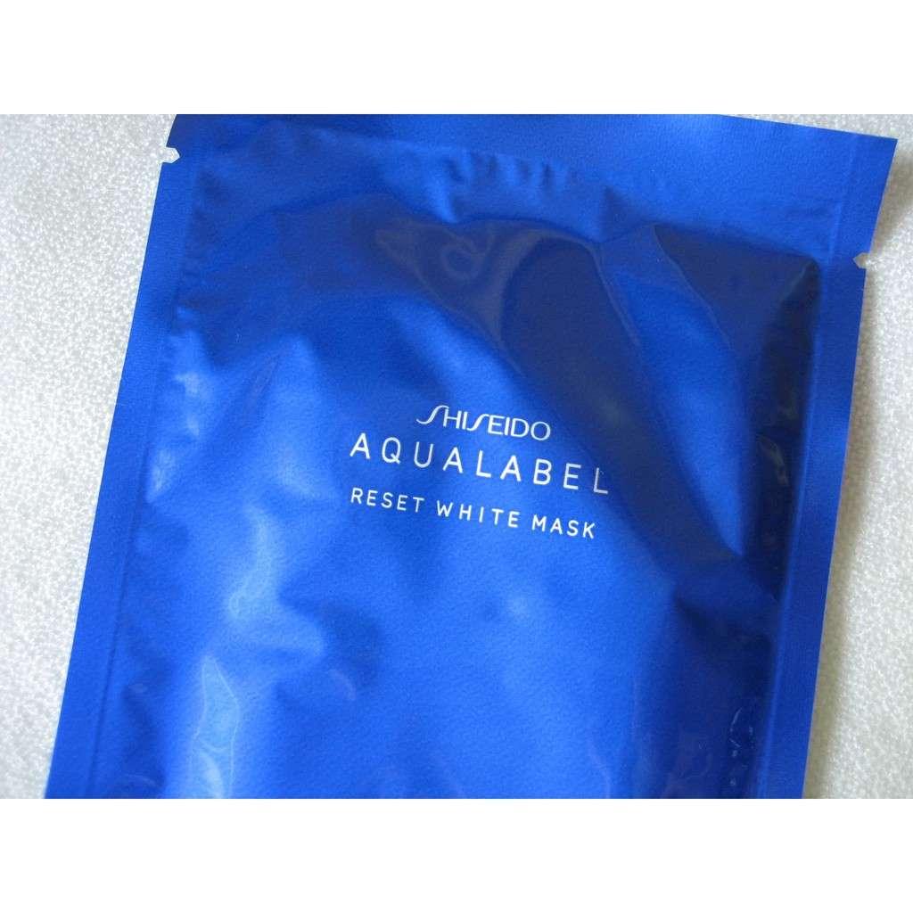 Mặt nạ Shiseido Aqualabel xanh dương