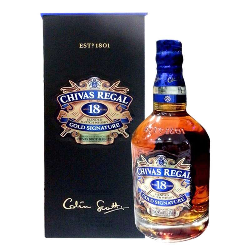 Rượu Chivas Regal 18 Năm Whisky 750ml