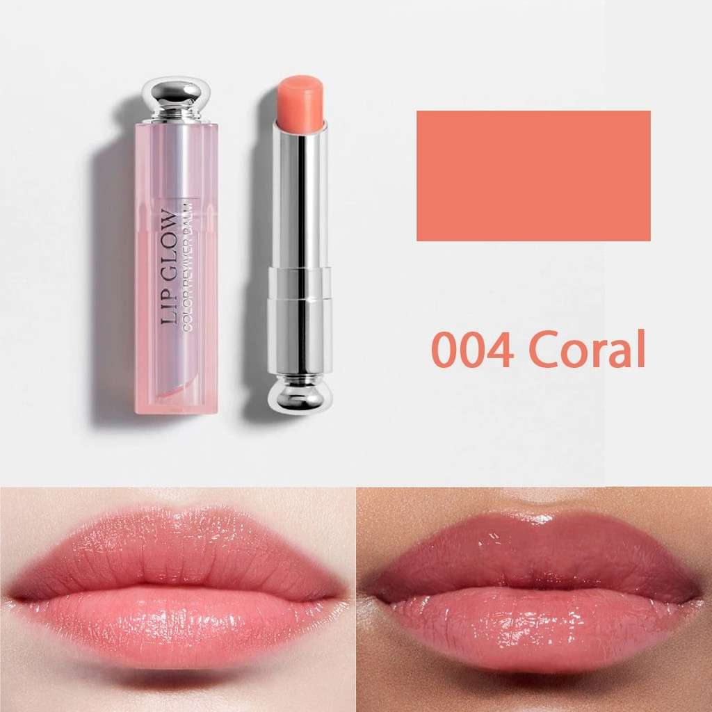 Son Dưỡng Dior Addict Lip Glow Màu 004 Coral