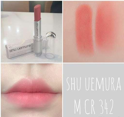 Son Shu Uemura 342 màu cam sữa