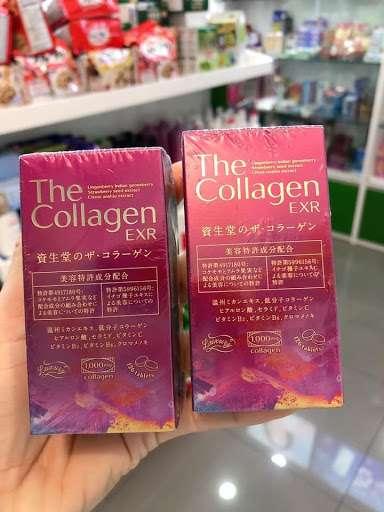 The Collagen Rich Rich Shiseido Nhật Bản Dạng Viên