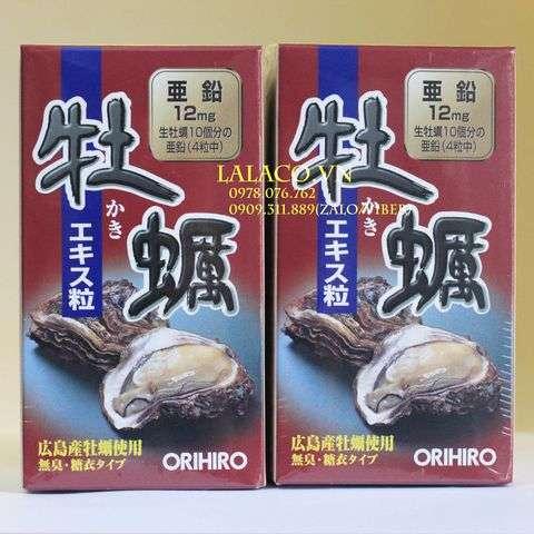 Viên Uống Hàu Biển Orihiro
