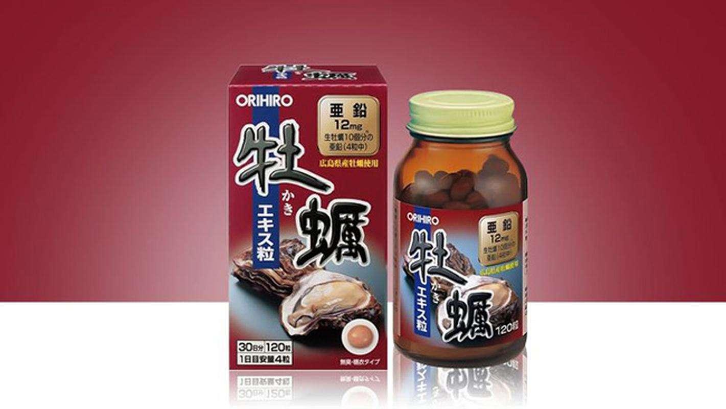 Viên Uống Hàu Biển Orihiro Tinh Chất Hàu Nhật Bản
