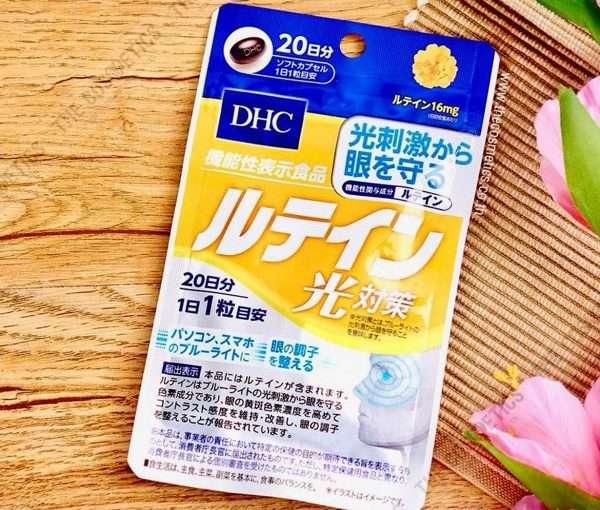 Viên Uống Lutein DHC Chống Ánh Sáng Xanh