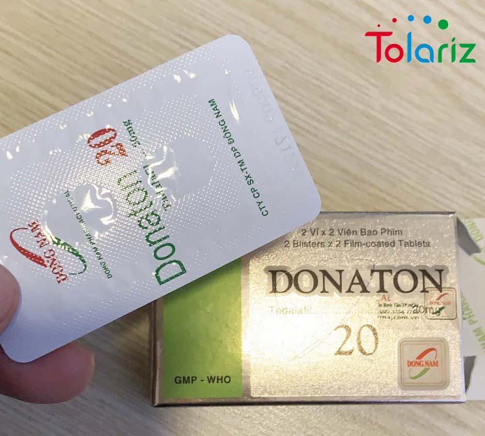 Donaton 20mg: Hỗ Trợ Điều Trị Rối Loạn Cương