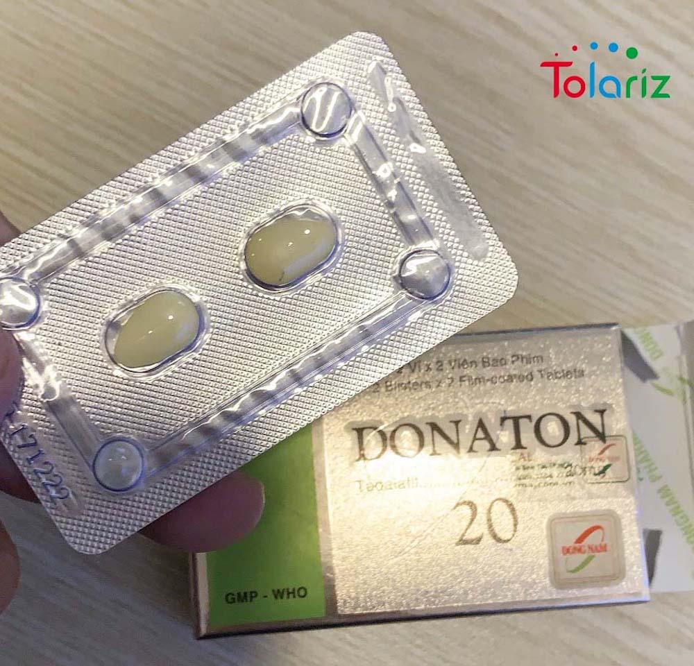 Thuốc Donaton 20 mua ở đâu TPHCM?