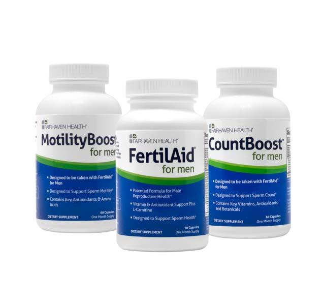 Bộ 3 sản phẩm Fairhaven Health cải thiện tinh trùng