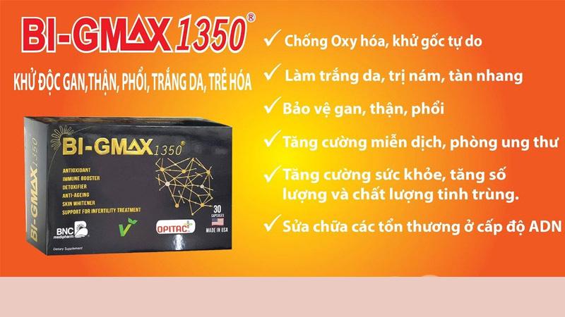 Viên uống Bi-Gmax 1350 Có Tốt Không?