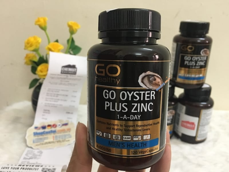 Tinh Chất Hàu Go Oyster Plus Zinc Giá Bao Nhiêu?