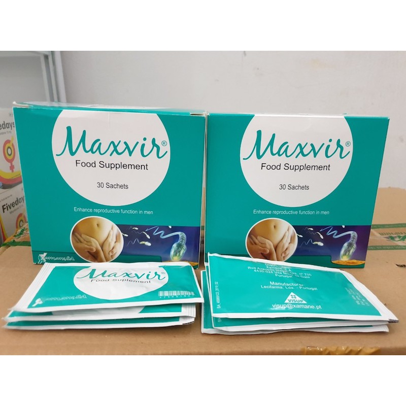 Thuốc Maxvir food supplement có tốt không?