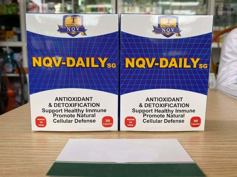 Thuốc NQV Daily SG: Công Dụng, Cách Dùng, Giá Bán, Mua Ở Đâu?