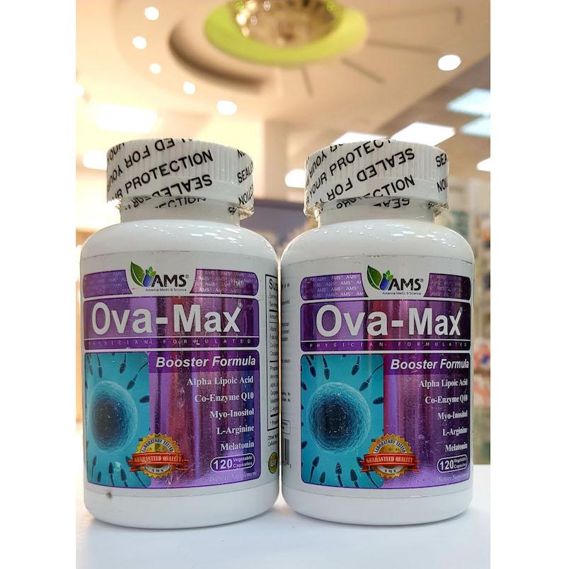 Thuốc AMS Ova max có tác dụng hỗ trợ cải thiện chức năng buồng trứng