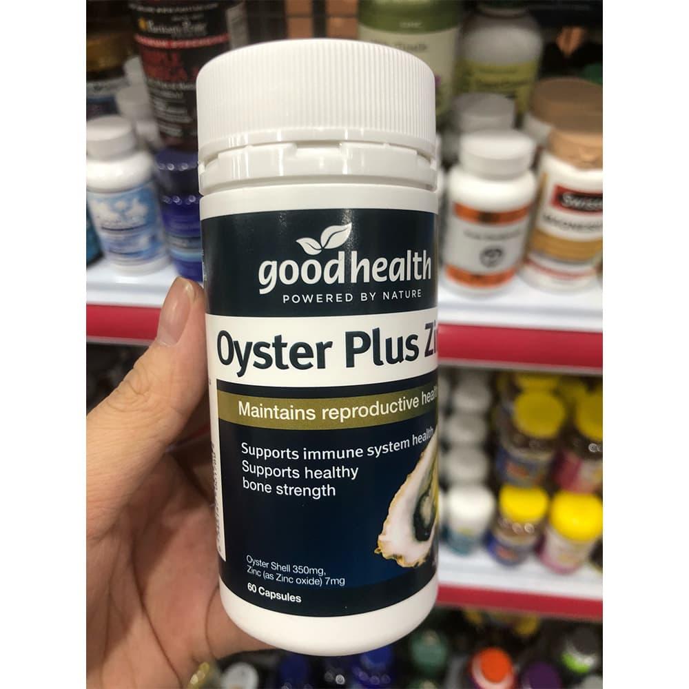 Oyster Plus – Tăng Ham Muốn Quan Hệ