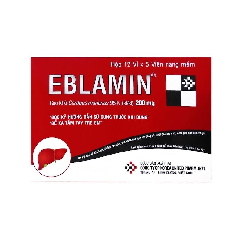 Thuốc Eblamin – Hỗ trợ cương, Giải độc gan
