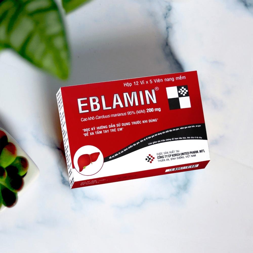 Thuốc Eblamin: Hỗ Trợ Điều Trị Rối Loạn Cương Hiệu Quả